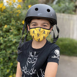 Polka Bike Kids' Face Mask
