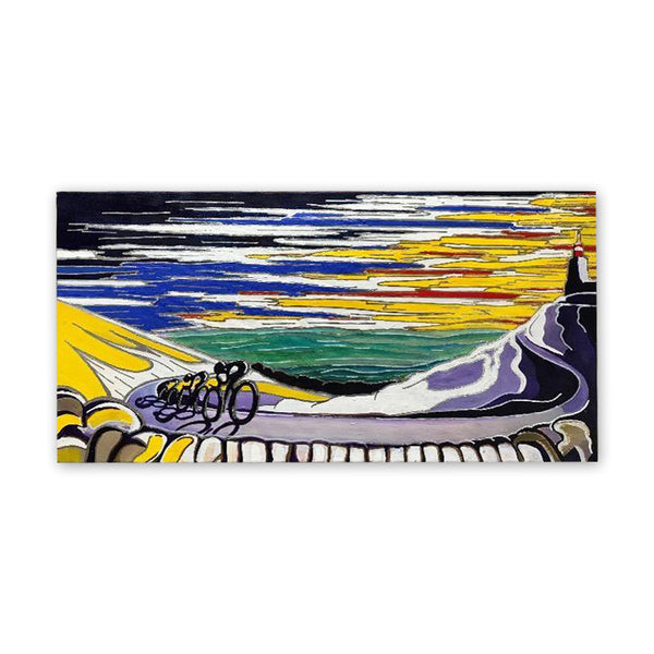 SOLD OUT: Mont Ventoux - Race to Bedoin (original acrylic painting)