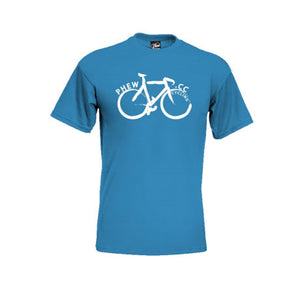 Blue Bike T Shirt