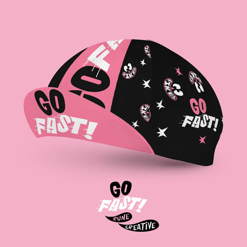 Go Fast! Cycling Cap