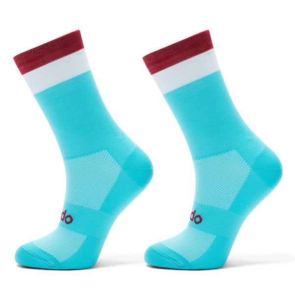 Simplicity Sky Blue Cycling Socks