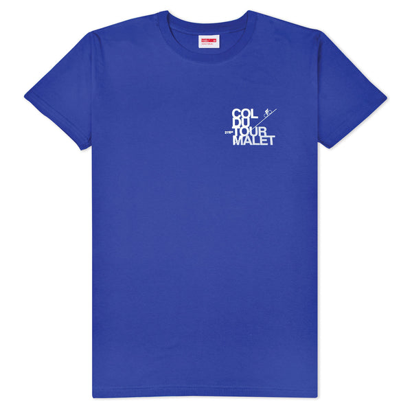 T-lab Tourmalet Cobalt Blue Short Sleeve