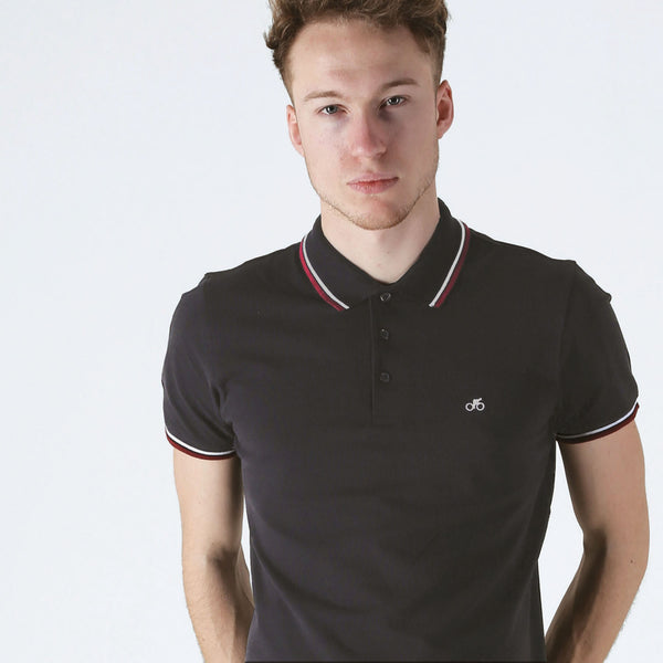 T-lab VeloPolo Black Polo Shirt