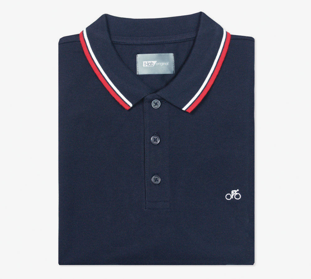T-lab VeloPolo Navy Polo Shirt