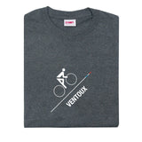 T-lab Ventoux Heather Grey Short Sleeve