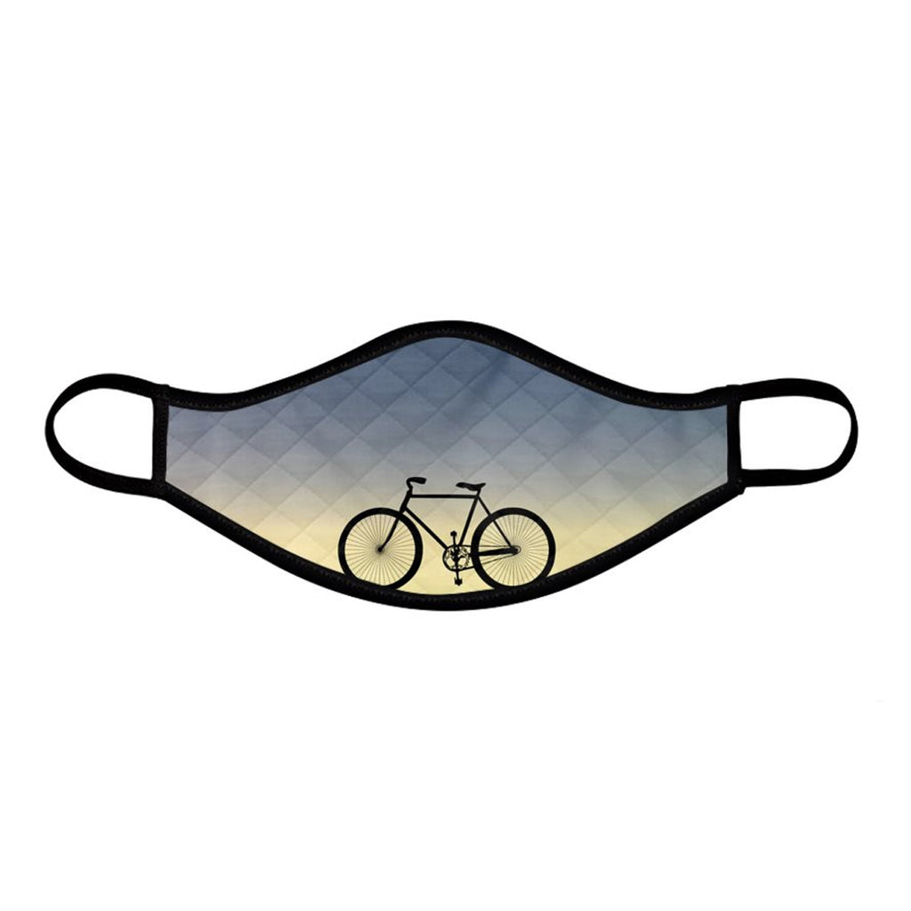 Bike Scape Face Mask