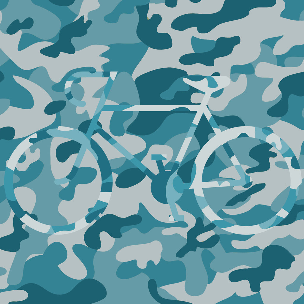 Camo Bike Face Mask