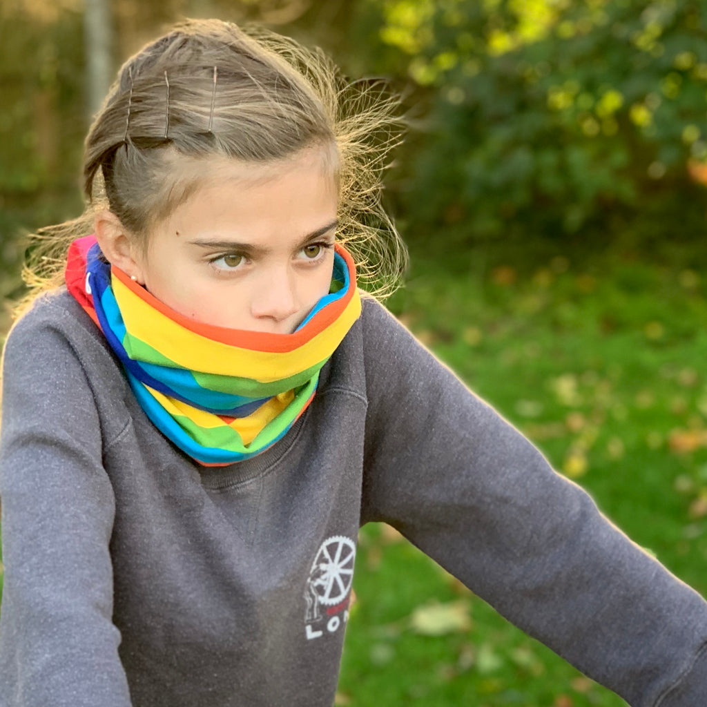 The Oh Look a Rainbow Snood