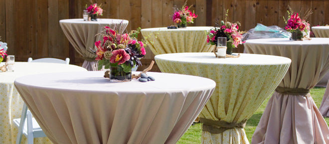 Linen Rental Ideas to Make Unique Wedding Decorations