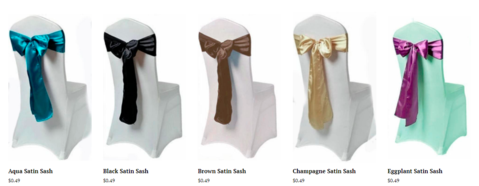 Wondering If Adding Satin Chair Sashes Is a Good Decision? These Ideas Will Surely Help You Decide