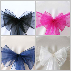 Jazz Up Your Event Decor By Adding Organza Sashes