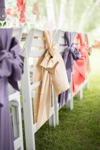 Different Colored Chair satin Sashes And Their Corresponding Significance