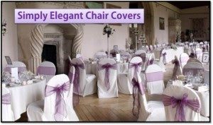 Create Your Event More Graceful With Wedding Chair Covers