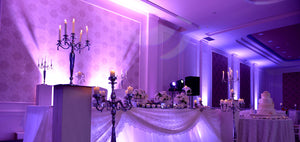 Uplighting for Weddings and Events