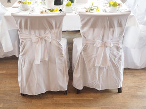 Adding Glamour To Your Wedding Venue With These Chair Covers And Sashes Ideas