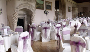 Make Your Event More Trendy With Organza Chair Sashes