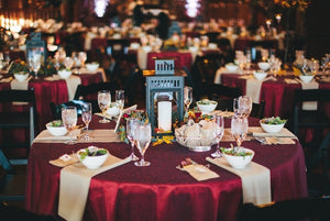 Choose the Perfect Tablecloth for the Perfect Event