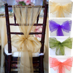 5 Awesome Ways To Decorate Bride And Groom's Wedding Chairs