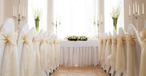 Three Attractive Chair Cover Options from Simply Elegant Chair Covers