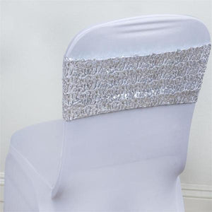 Chair Sash- Spandex Sequin