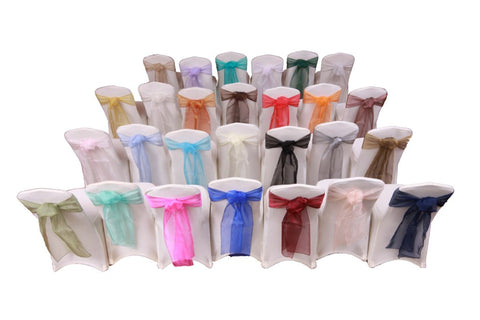 Colorful Chair Sashes