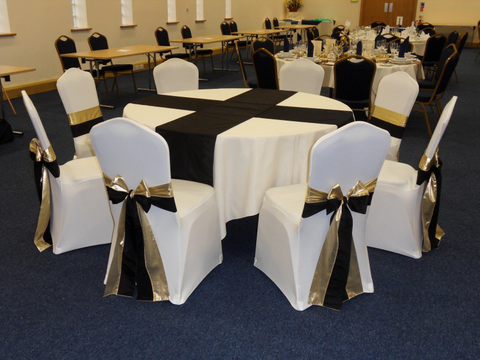 Chair Cover with Sashes