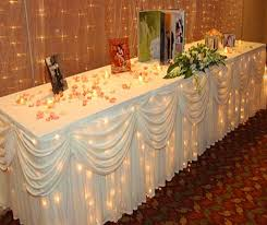 Table Skirting Rental