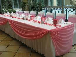 Wedding Table Skirting