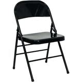 Black Folding Polyester Chair Cover - Rent
