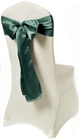 Hunter Green Satin Sash