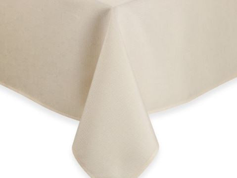 Ivory Square Polyester