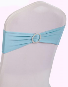 light blue spandex band