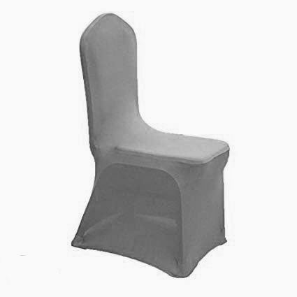 Silver Spandex Chair Covers For Wedding Special Events Simply