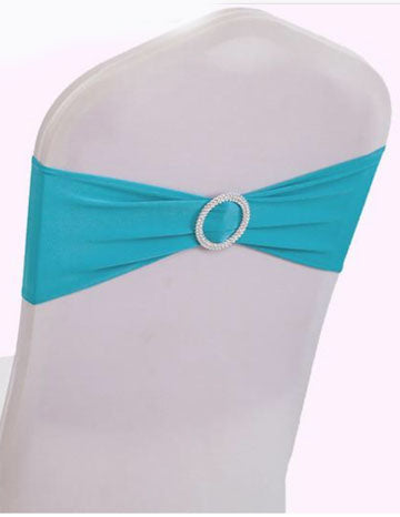 turquoise spandex band