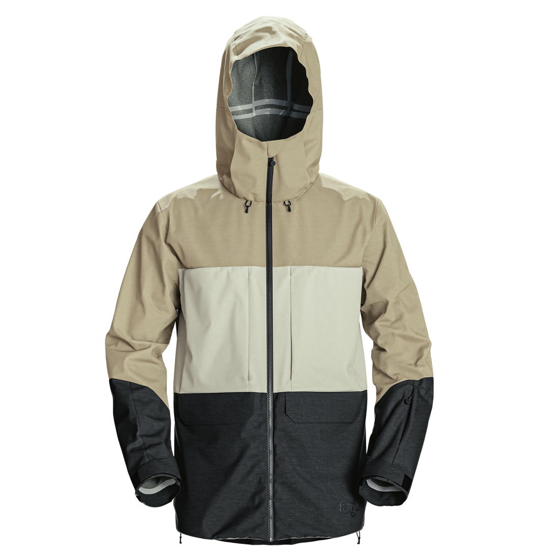 Monarch 3L Jacket | Khaki - https://cdn.shopify.com/s/files/1/0032/4642/files/Monarch_jacket_-_Khaki.mp4?1841