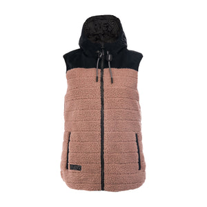 Reversible Sherpa Vest Women's