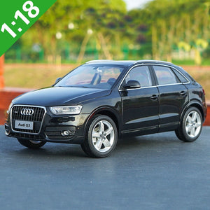 1/18 AUDI Q3 SUV Alloy Diecast Metal Car Model Toys For Baby Gifts Original Box Toys Collection Free Shipping