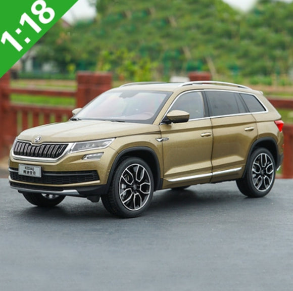 1/18 Skoda KODIAQ SUV Alloy Diecast Metal Car Model Toy For Kids Birthday Gifts Toy Collection Original Box