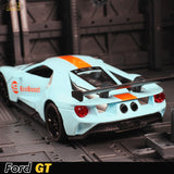 1:32 Ford GT Race Car Alloy Car Model Diecasts & Toy Vehicles 1/32 Car Model with Light & Sound Car Toys for Children - efair.co