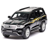 1:32 Toy Car TOYOTA LAND CRUISER Prado Metal Toy Alloy Car Diecasts Toy Vehicles Car Model 6 Doors Can Opened Toys For Children - efair.co