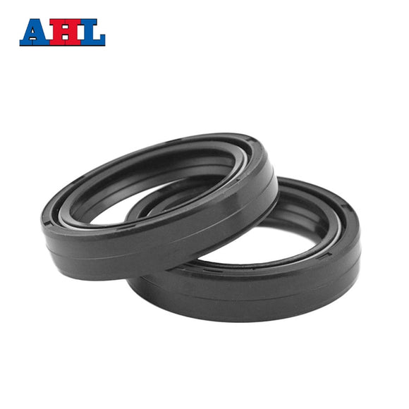 1 pair Motorcycle Parts Front Fork Damper Oil Seal Size 37*50*11 37 50 11 Motorbike Dirt Racing Bike Shock Absorber