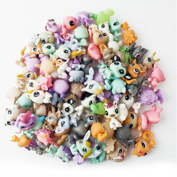 10PCS Children Magic lol Pop Animals Model Toys Funny Pet Hatch Ball Girls And Boys Originality Little Gift - efair.co