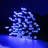 12M LED Solar Powered Outdoor Decorative Ambiance Lights for Patio Lawn Garden Fence Balcony Party Holiday Christmas Decoration - efair.co