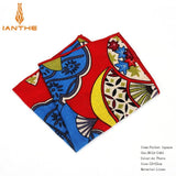 2018 Men's Suits Linen Handkerchiefs Woven Floral Vintage Pocket Square Hankies Men's Business Casual Square Pockets Hanky Towel - efair.co