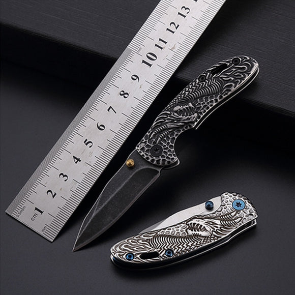 2019 NEW Mini Knife Survival Hunting EDC Portable Folding Camping Tactical Folding Pocket knife Outdoor Tools free shipping - efair Best spare parts online shopping website