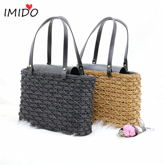 2019 New Hand Made Bags  Summer Rattan Shoulder Bag Bohemia Handbag Bali Holiday Beach Bag - efair Best spare parts online shopping website