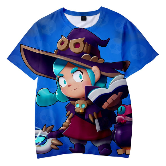 2019 Newest BRAWL STARS Children T shirt Boys/Girls Summer Fashion Kawaii Kid's T-shirt 3D Print BRAWL STARS Hot Game T-shirts - efair.co