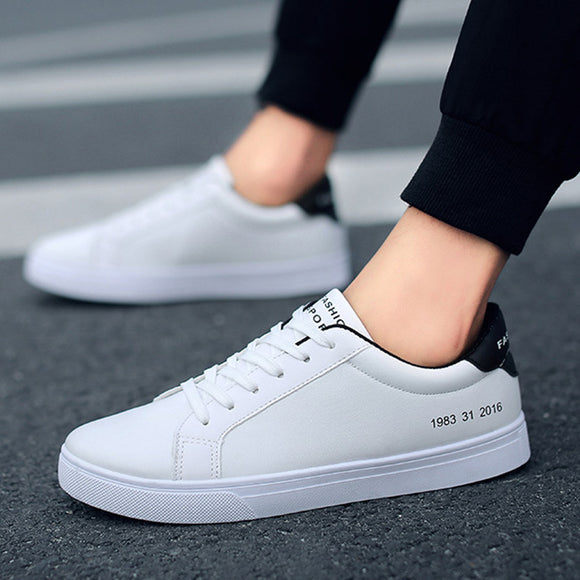 2019 Spring White Shoes Men Casual Shoes Male Sneakers Cool Street Men Shoes Brand Man Footwear KA793 - efair Best spare parts online shopping website