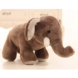 25cm Cute Stuffed boo elephant Simulation Elephant Doll  cartoon animal elephant Plush Toy Birthday Christmas Gift - efair Best spare parts online shopping website