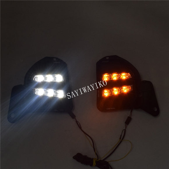2Pcs LED Daytime Running Light for Toyota Hiace DRL 2014 2015 2016 LED DRL Fog Light Cover Front Lamp Auto Parts - efair Best spare parts online shopping website